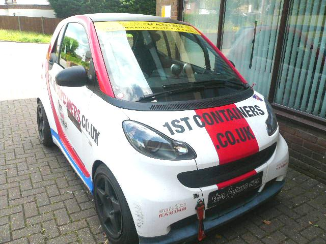Smart ForTwo Brabus Racing Car